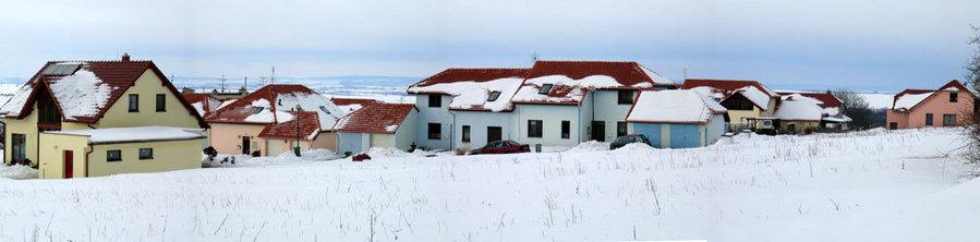 Fotografie nové výstavby v Kobeřicích u Brna